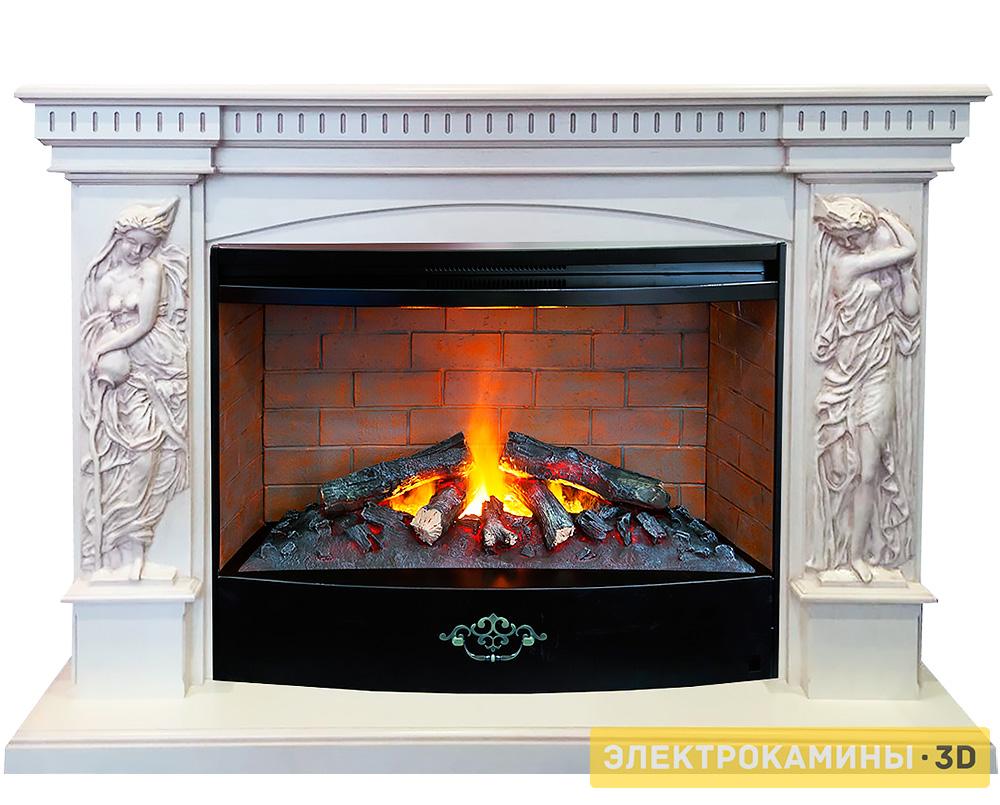 Электрокамины 3d пламя с эффектом дыма купить недорого электрические камины в серпухове