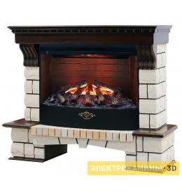 Электрокамин RealFlame Stone New 33 + 3D Firestar 33